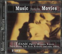 Music from the movies - cover versions - CD