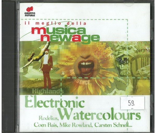 Musica NewAge - Electronic Watercolours - CD