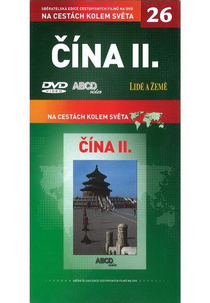 Na cestách kolem světa 26 - Čína II. - DVD