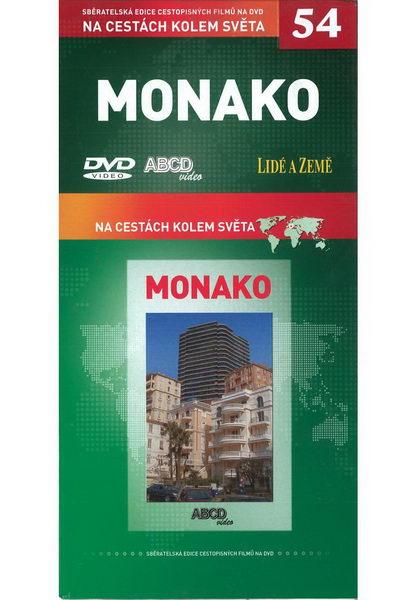 Na cestách kolem světa 54 - Monako - DVD