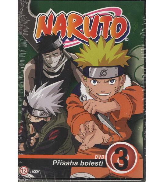 Naruto DVD 3