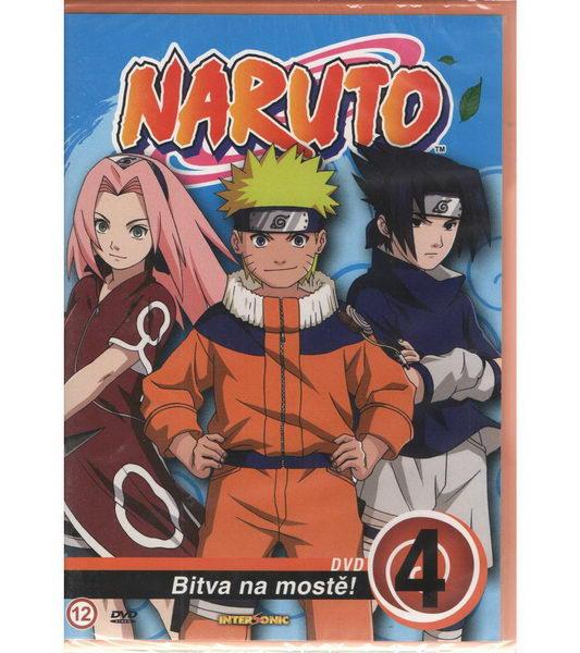 Naruto DVD 4