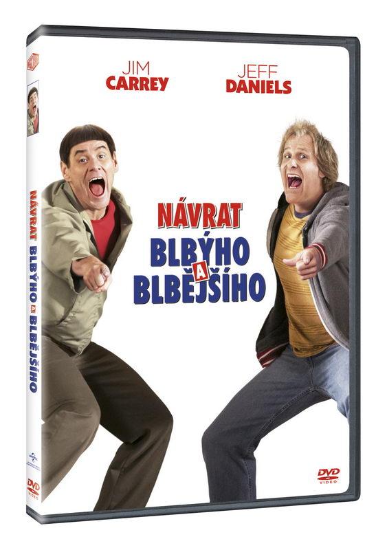 Návrat blbýho a blbějšího DVD