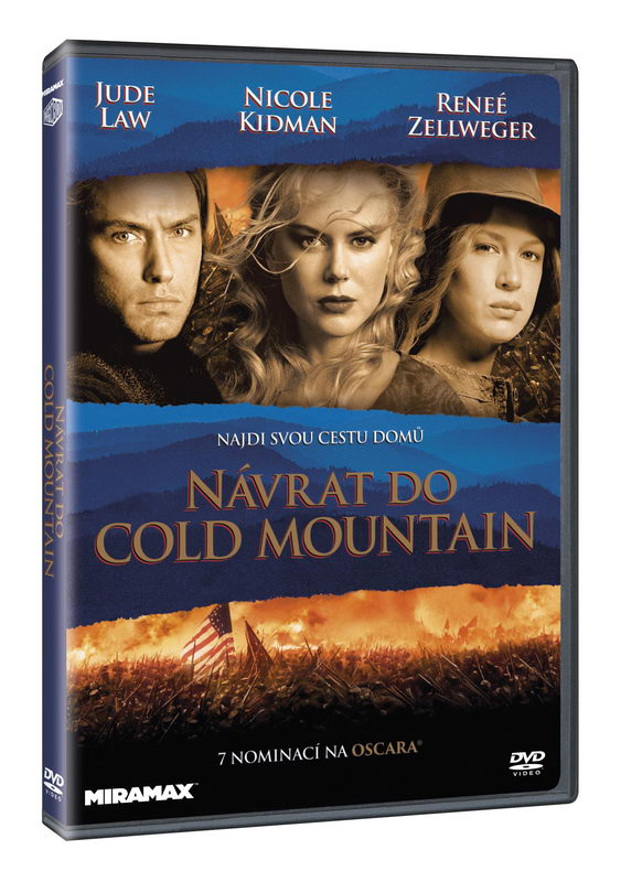 Návrat do Cold Mountain DVD plast