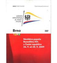 Návštěva papeže Benedikta XVI. v České Republice 26.9. až 28.9.2009 - BDno - DVD