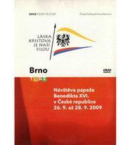 Návštěva papeže Benedikta XVI. v České republice 26.9. až 28.9.2009 - DVD
