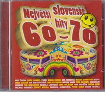 Největší slovenské hity 60. a 70. let - CD