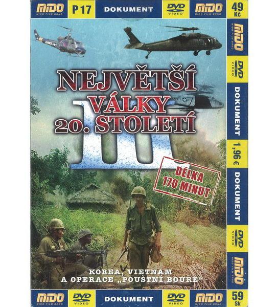 Největší války 20. století - 3 díl - DVD