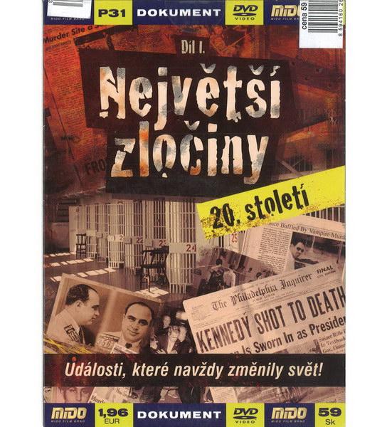Největší zločiny 20. století - Díl I - DVD