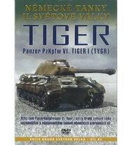 Německé tanky II.světové války - Tiger: Panzer PzKpfw VI. Tiger I (Tygr) - DVD