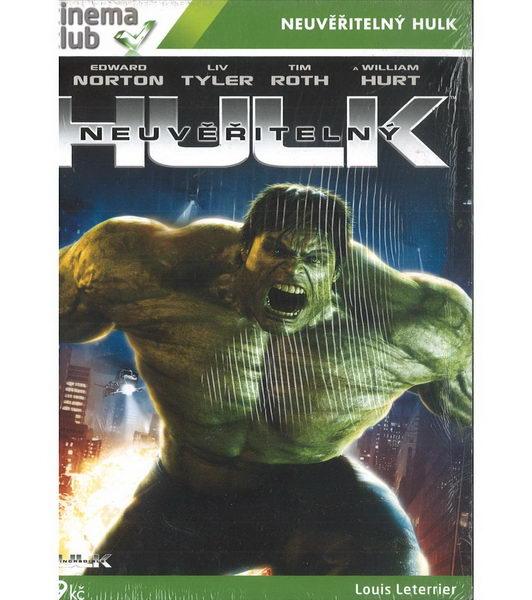 Neuvěřitelný Hulk - DVD