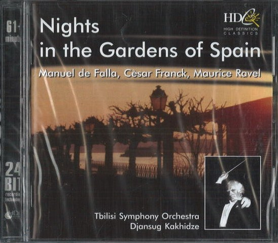 Nights in the Gardens of Spain - CD