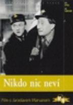 Nikdo nic neví - DVD