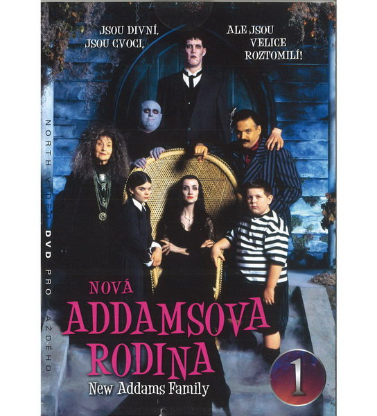 Nová Addamsova rodina 1 - DVD