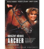 Odvážný hřebec Archer - DVD pošetka