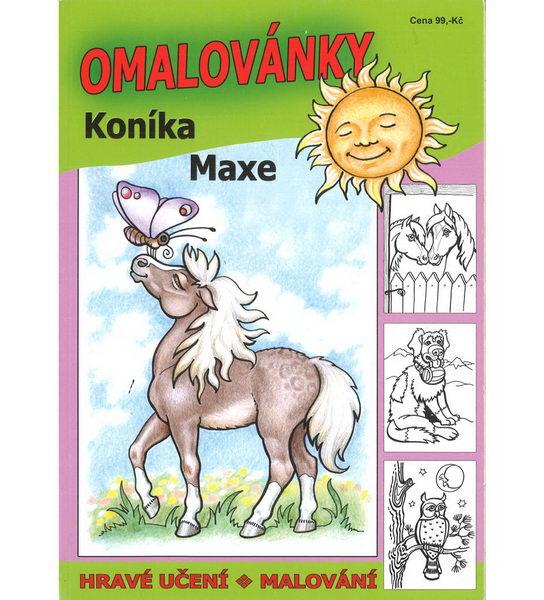 Omalovánky koníka Maxe - bazarové zboží
