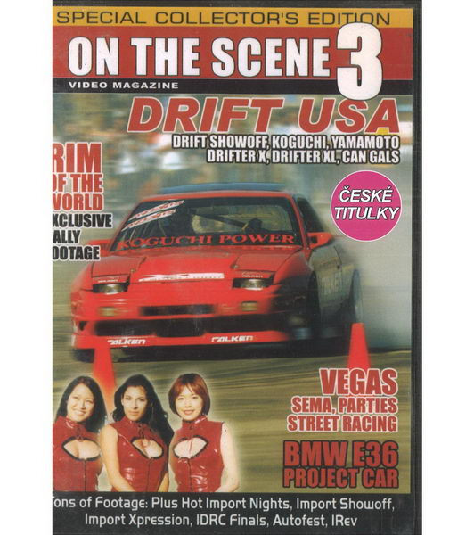 On the scene 3 - Drift USA - DVD