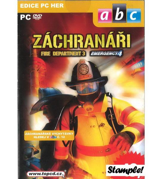 PC hra - Záchranáři (Fire Department 3 + Emergency 4)