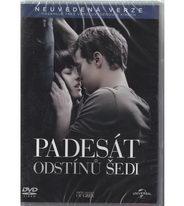 Padesát odstínů šedi - DVD plast
