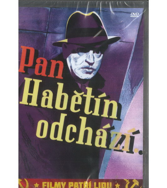 Pan Habětín odchází ( plast ) DVD
