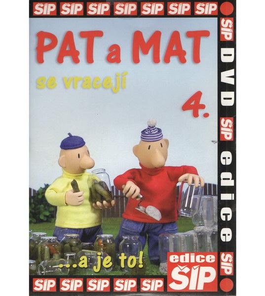 Pat a Mat 4 - DVD