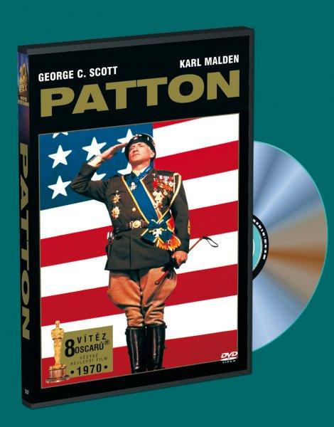 Patton - 2 DVD ( originální znění, titulky CZ ) plast DVD