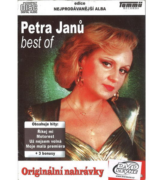 Petra Janů Best of - CD