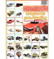 Pexeso - Dopravní prostředky