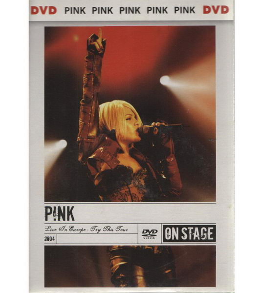 Pink On stage - DVD