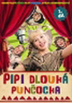 Pipi dlouhá punčocha - díl 1 (1982) - slim - DVD