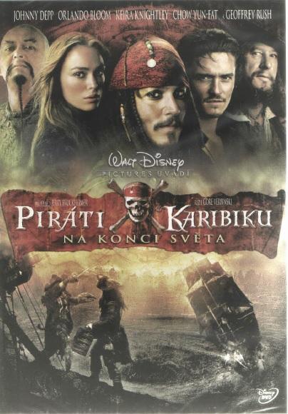 Piráti z Karibiku: Na konci světa - DVD