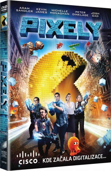Pixely - DVD