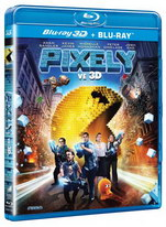 Pixely 2D+3D - Blu-ray