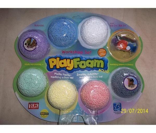 PlayFoam Boule - kuličková modelína - Workshop set