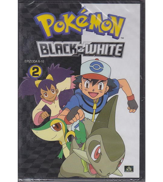 Pokémon: black and white 06. - 10. díl - DVD