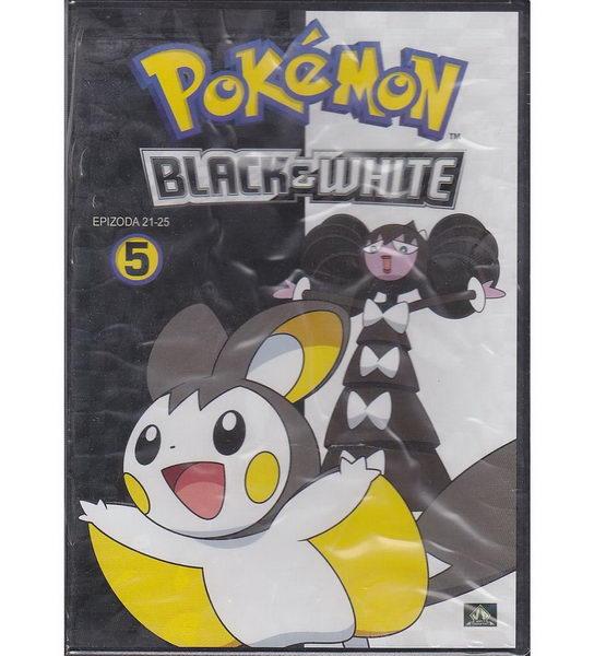 Pokémon: black and white 21. - 25. díl - DVD
