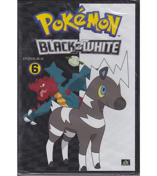Pokémon: black and white 26. - 30. díl - DVD plast