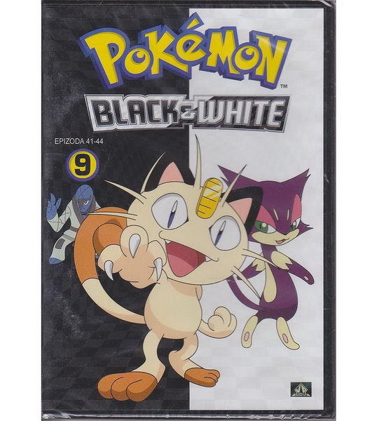 Pokémon: black and white 41. - 44. díl - DVD