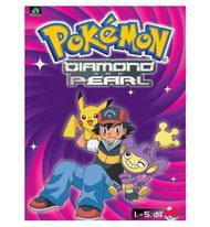 Pokémon - diamond and pearl 1. - 5. díl  pošetka DVD