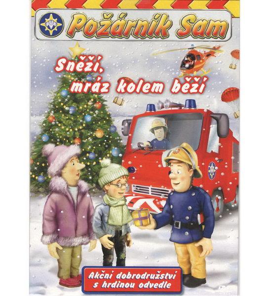 Požárník Sam - Sněží, mráz kolem běží - DVD