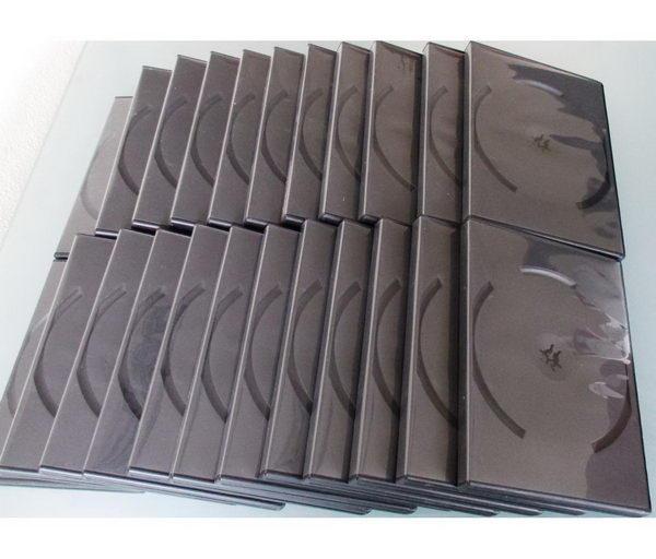 Prázdné obaly DVD_100 kusů