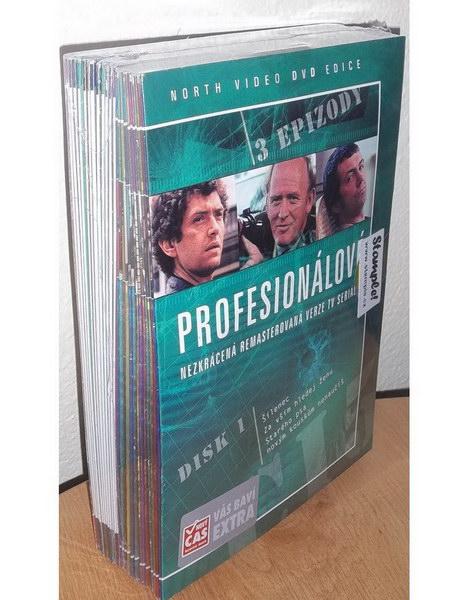 Profesionálové kolekce 26 DVD ( nekompletní - chybí disk 1 )