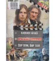 Radiace útočí / Spalující romance /Šup sem, šup tam - DVD