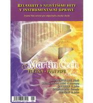 Relaxujte s největšími hity v instrumentální úpravě - Martin Čech - Flétna - Pan Pipe - CD