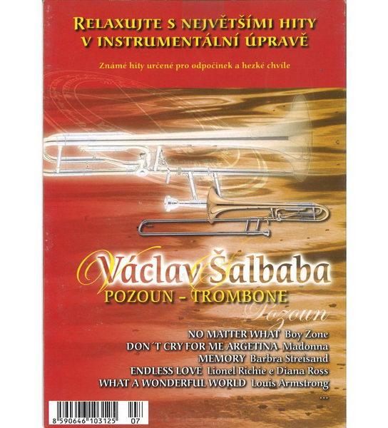 Relaxujte s největšími hity v instrumentální úpravě - Václav Šalbaba - Pozoun - Trombone - CD