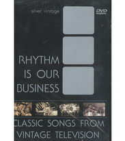 Rhythm is Our Business - Classic Songs from Vintage Television ( plast ) DVD