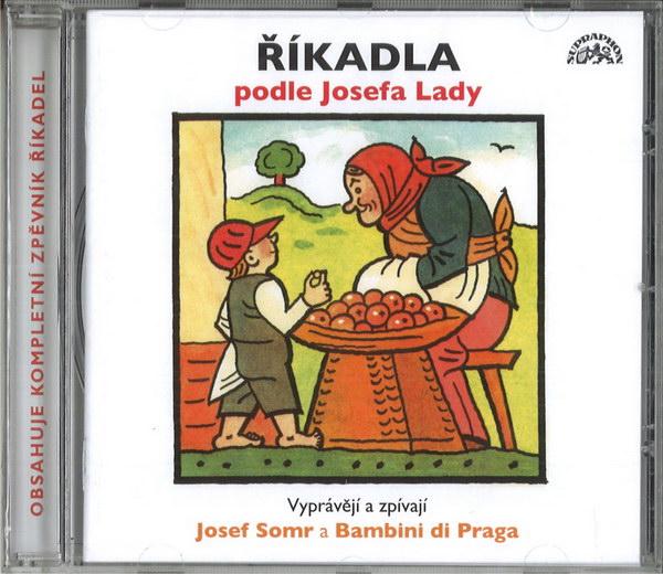 Říkadla podle Josefa Lady - CD