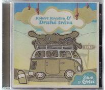 Robert Křesťan & Druhá tráva - Živě v Telči - CD