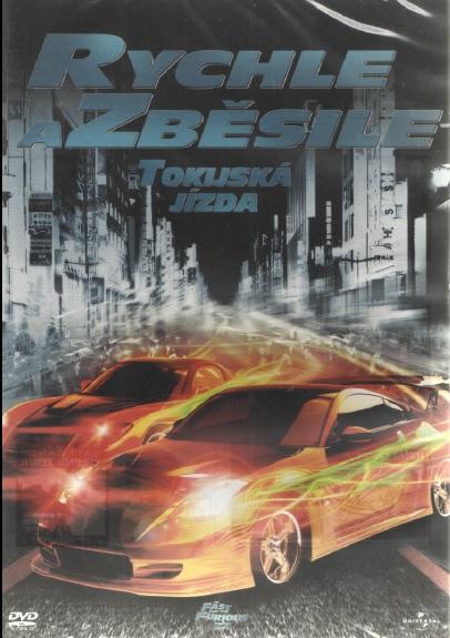 Rychle a zběsile 3 - Tokijská jízda - DVD