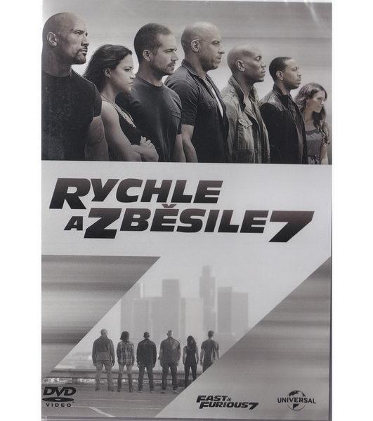 Rychle a zběsile 7 - DVD plast